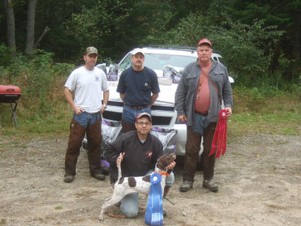 CH Cas Tiny - 2011 New England Open Grouse Championship